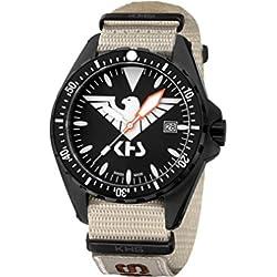 KHS Mens Watch MissionTimer 3 Eagle One KHS.MTE.NXTLT5