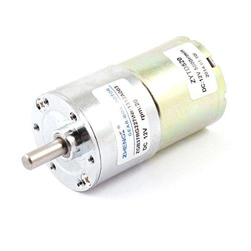 sourcingmap® DC 12V 20RPM 6 mm Durchmesser Welle magnetische Getriebe elektrischen Getriebemotor Durchmesser Motor