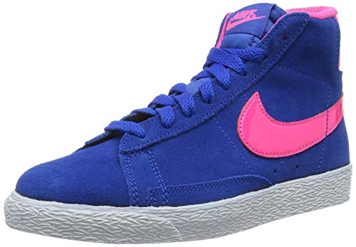 best service d2cb5 d50af Nike - Nike Blazer Mid Vintage Ps Scarpe Bambina Blu 549552 - Blu, 29.5