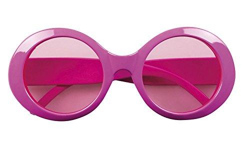 Jahre Zum Kostüm Siebziger - Boland 02619 Brille, Rosa