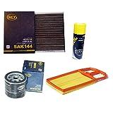 Inspektionspaket SCT Aktivkohle Pollenfilter Luftfilter Ölfilter