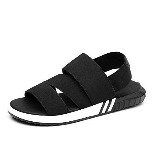 sandali uomini giovani per il tempo libero scarpe da spiaggia degli uomini, il nero, US6-6.5 / EU38 / UK5-5.5 / CN38 US8/EU40/UK7/CN41