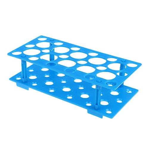 Homyl 1 Stk. Reagenzglas Gestell aus hochwertigem Kunststoff Reagenzröhrchen oder kolorimetrische Röhrchen Aufhängen Gestell Ständer Laborbedarf 50ml 10ml 15ml Zentrifugenröhrchen Halter - Als Bild, Klein (15 Ml Zentrifugenröhrchen)