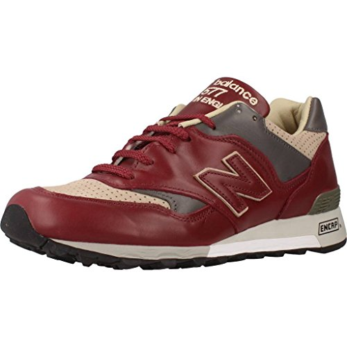 Basket, couleur Rouge , marque NEW BALANCE, modÚle Basket NEW BALANCE M577 LBT Rouge LBT burgundy