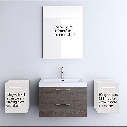 Meuble de salle de bains ensemble de 2-pièces, meuble sous vasque , vasque 76,5cm Bavaria