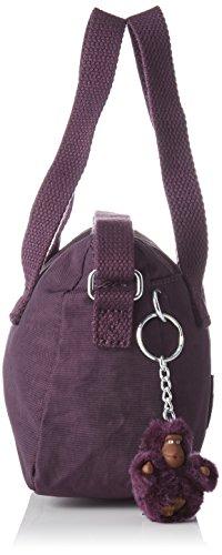 Kipling - Leike, Borse a spalla Donna Viola (Plum Purple)