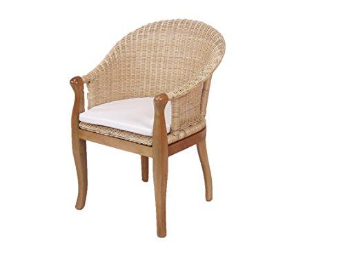 Rattansessel Einzelsessel Sessel handgeflochten
