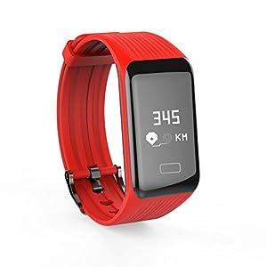 Chenang Intelligente Uhr, Sport Fitness Uhr, Smart Watch mit Pulsmesser,Y1 Smartwatch Aktivitätstracker Fitness Tracker Uhr Unisex Stoppuhr für Damen Kinder Herren