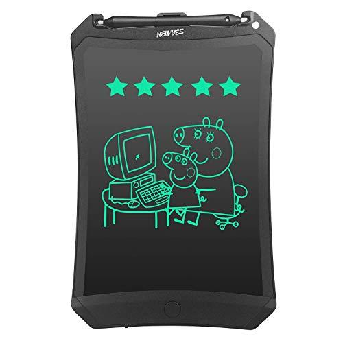 Lzour Robot Pad 8,5 Pollici LCD tavoletta di Scrittura con Scrittura più Luminosa e Serratura per Evitare la cancellazione accidentale Ufficio Klass casa Doodle Disegno Regali per Bambini e Adulti