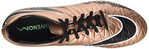Nike Hypervenom Phelon II Ag-R, Scarpe da Calcio Uomo D'Oro (Mtlc Rd Brnz/Blk-Grn Glw-White 903)