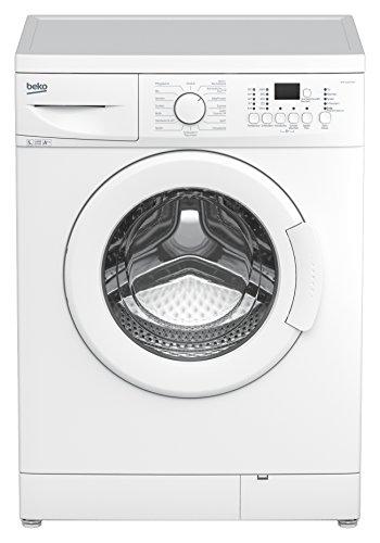 Beko WML 51432 MEU Waschmaschine FL / A++ / 148 kWh/Jahr / 1400 UpM / 5 kg / Aquafusion - optimale Ausnutzung des Waschmittels / Multifunktionsdisplay / weiß