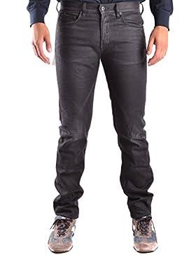 Stone Island Hombre MCBI284100O Negro Algodon Jeans
