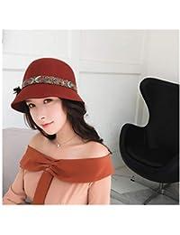 Amazon.it  cappello bombetta - Rosso   Donna  Abbigliamento ac15904802d2