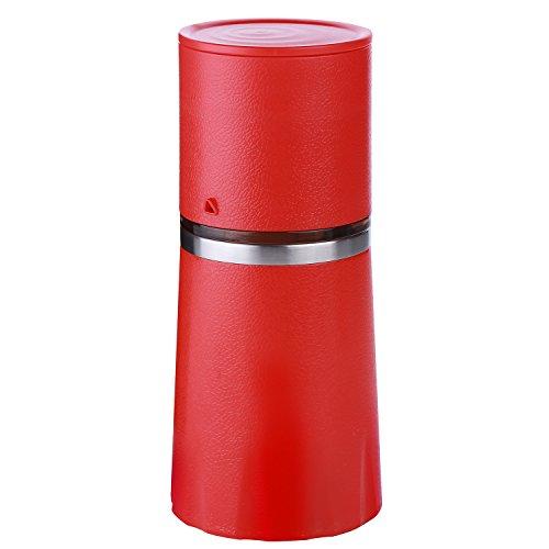 Molinillo y filtradora de café con taza para viaje todo en uno....