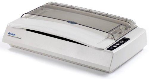 Avision FB2280E Flachbett-Scanner (A4, 600dpi, USB 2.0) silber/weiß