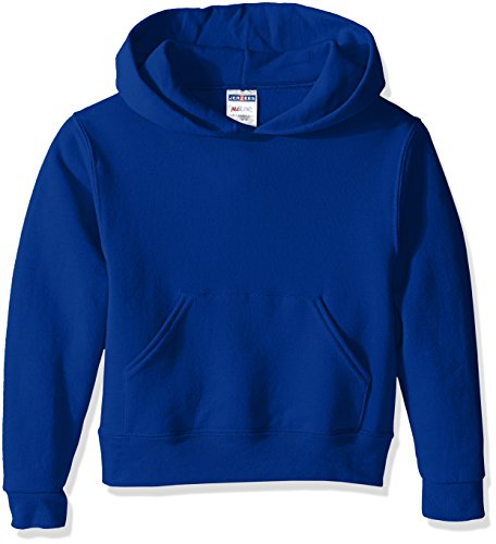 Jerzees-baumwolle-pullover (Jerzees Youth Pullover Hood, Royal, X-Large)