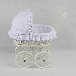 Regal Doll Carriages Elizabeth Buggy Baby Doll