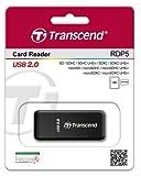 Transcend RDP5 USB Card Reader (Black)