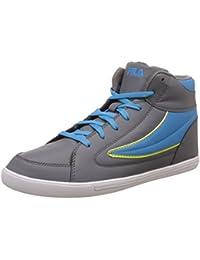 Fila Men's Streetmate III Grey and Royal Sneakers - 9 UK/India (43 EU)