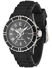 Paris Hilton FLIRT PH13525JPBKS-02 - Reloj analógico de cuarzo para mujer, correa de plástico color negro