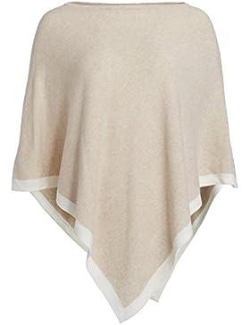 Poncho para mujer con Cachemira/Cashmere de Kurt kölln & # 9733; de moda All Rounder para mujeres como alternativa...