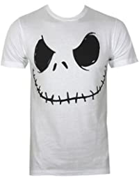 Nightmare Before Christmas Smiling Jack Men's T-Shirt White