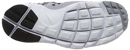 Nike Air Footscape Woven Nm, Chaussures de Gymnastique Homme Gris (Wolf Grey/black Dark/grey/white)