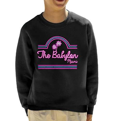 Scarface Babylon Club Miami Kid's Sweatshirt