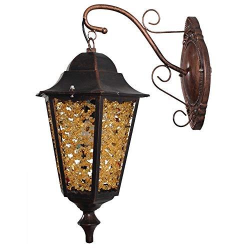 Amerikanischen Indoor Und Outdoor Universal Retro Auge LED Wandleuchte Schmiedeeisen Plexiglas Bar Beleuchtung Persönlichkeit Kreative Outdoor Garten Lampe Balkon Treppenlicht E14 Schraube - Bars Outdoor-wandleuchte