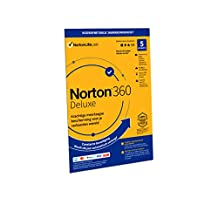 Norton 360 Deluxe 2020 | 5 Apparaten | 1 Jaar abonnement met automatische verlenging | Secure VPN en Password Manager | PCs, Macs, tablets en smartphones