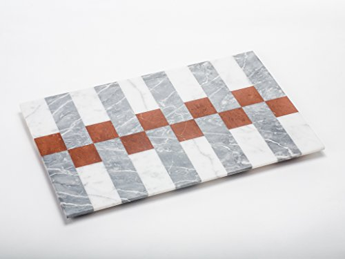 D006 - APUANA CORPORATE - Vassoio PATCHWORK mod. Stripes - Designer Massimiliano Settimelli