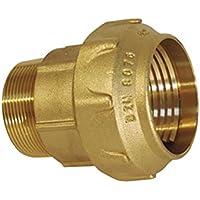 Rc Junter 45063 - Enlace macho latón, 63 mm, 9.5 x 8 x 8 cm, color dorado