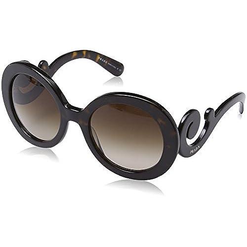 Prada Damen Sonnenbrille PR11SS, Beige (Opal Beige UFH4S2), One size (Herstellergröße: 53)