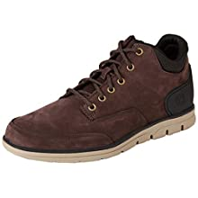 Timberland Men's Bradstreet Chukka Molded High-top Sneakers, Brown (Dark Brown Nubuck), 6.5 UK 40 EU