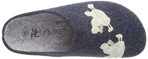 Hans Herrmann Collection hhc Damen Pantoffeln Blau (blau -40)