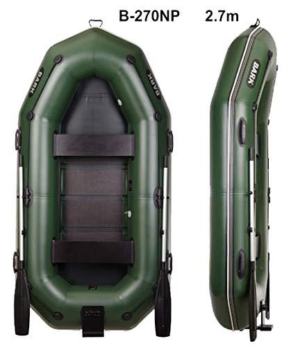 Bark B-270NP 2.7 m 8.9 ft Schlauchboot mit Heckspiegel und Scheuerleiste für Motor Angelboot Motorboot Ruderboot Paddelboot Gummiboot Sportboot aufblasbar Boot Inflatable Boat Dinghy