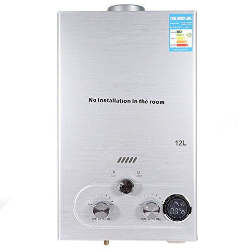 Calentador de agua de gas natural