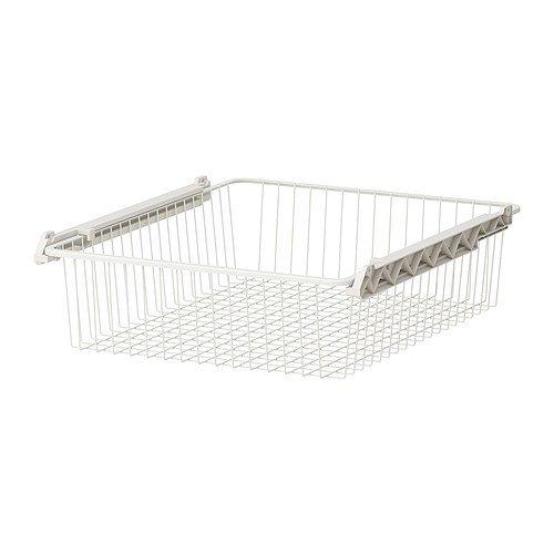 Weißen Drahtkorb (Ikea STUVA GRUNDLIG-Drahtkorb, weiß-60x 49x 13cm)