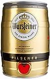 Warsteiner Premium Pilsener 5 Liter Fass / Partyfass mit Zapfhahn