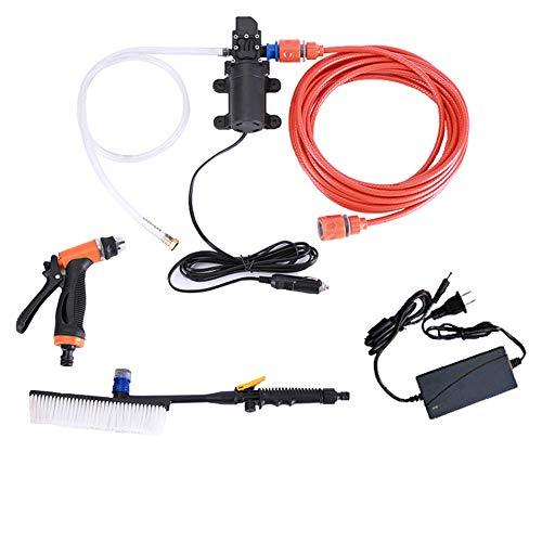 QINAIDI Tragbare Selbstansaugende Schnelle Auto-Reinigungswasserpumpe der elektrischen Reinigungsanlage (Elektrische Waschmaschine Druck)