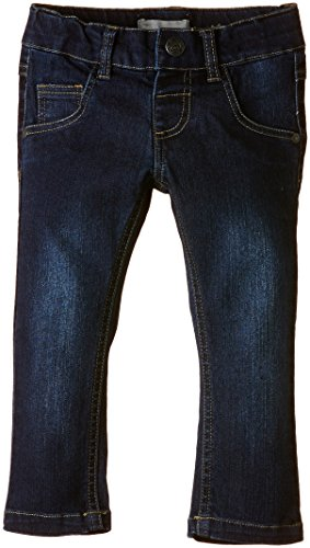 NAME IT Mädchen Jeanshose Mille Dark Kids Slim Dnm Pant Noos, Gr. 122, Blau (DENIM)