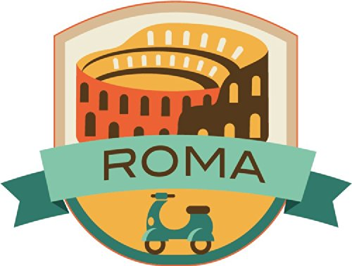 roma-italy-world-city-travel-label-badge-alta-calidad-de-coche-de-parachoques-etiqueta-engomada-12-x