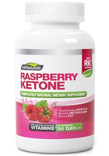 Raspberry Ketone Natural Weight Loss Supplement - Premium 1200mg Ketones