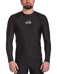 iQ UV 300 T-shirt slim manches longues vêtement anti-UV