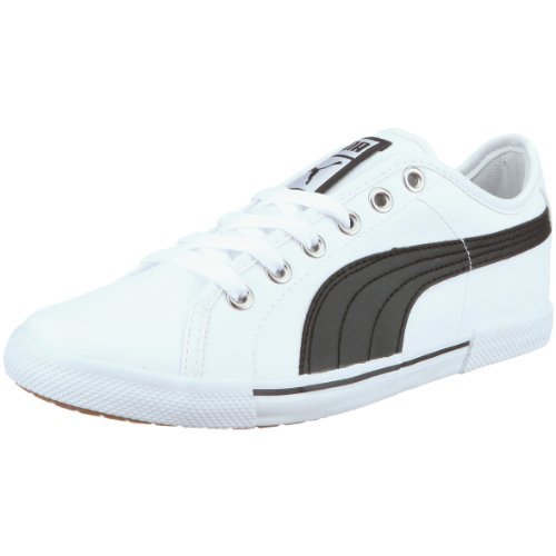 Puma Benecio L Jr - Basket mode Garçon - Noir / Blanc Weiss/White-Black
