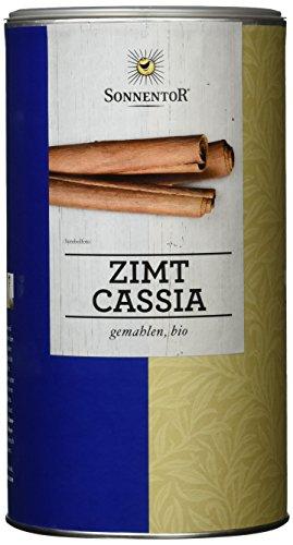 Sonnentor Zimt Cassia gemahlen Gastrodose, 1er Pack (1 x 500 g) - Bio