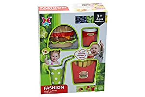Kidz Corner- Fast Food, Color Rojo/Amarillo/Verde, 437477