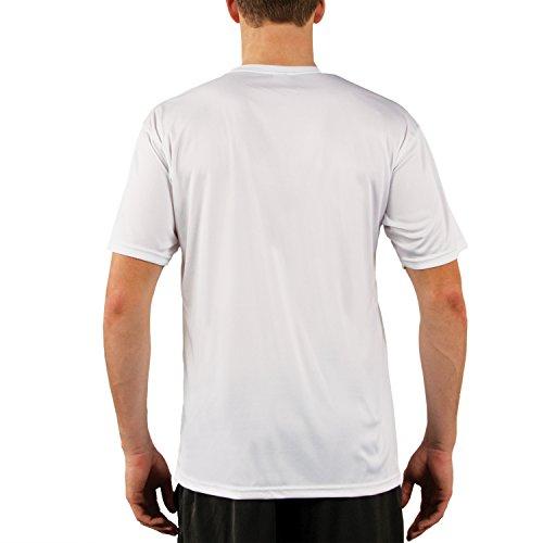 Vapor Apparel Herren UPF 50+ UV Sonnenschutz Kurzarm Performance T-Shirt Weiß