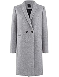72c6a3e6b4a4 Amazon.fr   manteau redingote - Marron   Femme   Vêtements