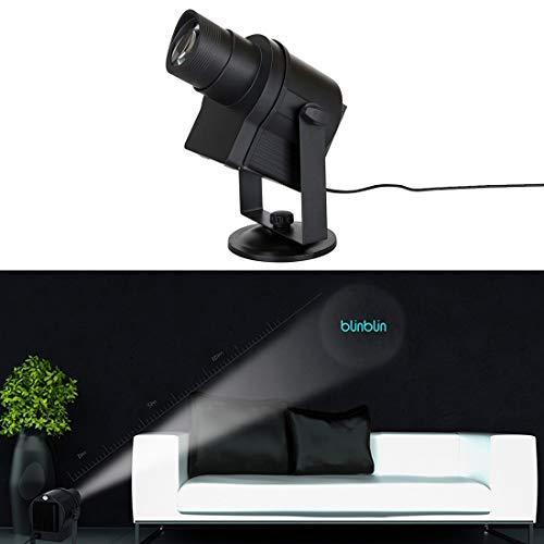 LED Light GuoBo LED-Licht DIY LED Logo Projektor Landschaftslicht mit 6 Mustern für Weihnachten, Halloween-Party, Urlaub ()